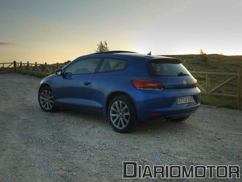 Volkswagen Scirocco 1.4 TSI de 160 CV a prueba