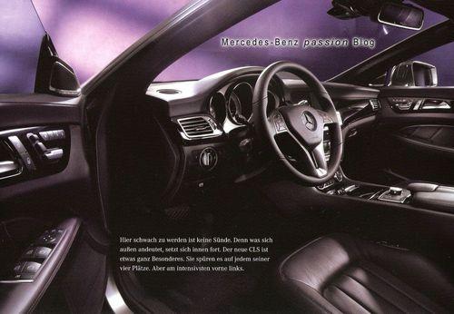 Mercedes-Benz CLS, catálogo filtrado