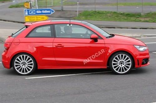 Audi S1, cazado por Autocar