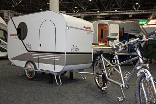Dethleffs Biker, la caravana mas pequeña
