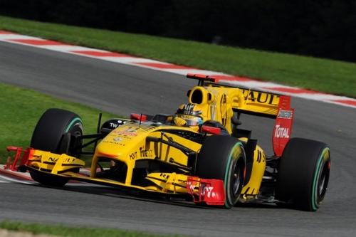 Renault F1 (GP Bélgica 2010)