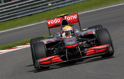 McLaren (GP Bélgica 2010)