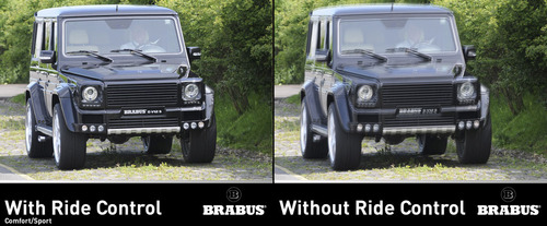 Brabus Ride Control Mercedes Clase G