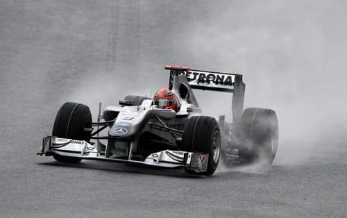 Michael Schumacher (Mercedes) - GP Bélgica 2010 - Tiempos y Parrilla Salida