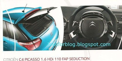 Citroën C4 Picasso y C4 Grand Picasso, filtrado el lavado de cara