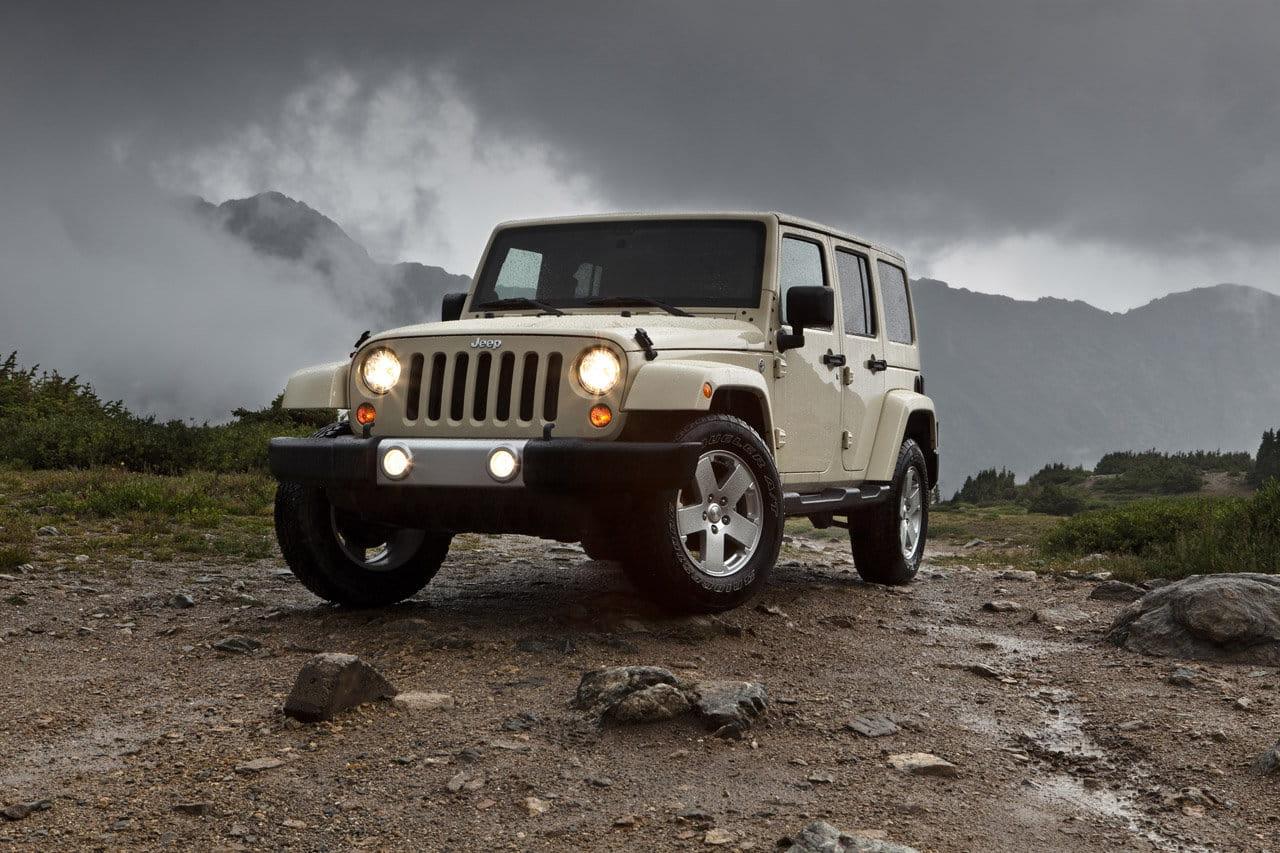 Jeep wrangler 2011 llega el lavado de cara