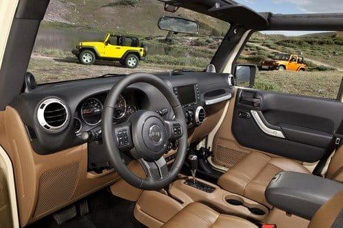 Jeep Wrangler 2011, llega el lavado de cara