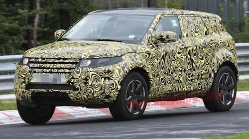 Range Rover Evoque, fotos espía del cinco puertas