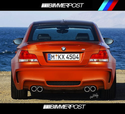 BMW Serie 1 M Coupé recreación