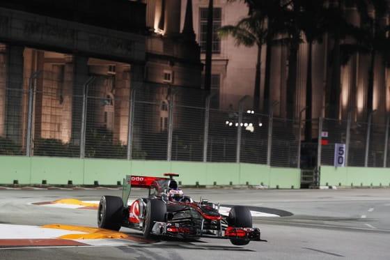 Jenson Button (McLaren) - GP Singapur 2010