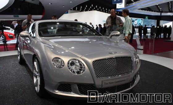 Bentley Continental GT en el Salón de París 2010