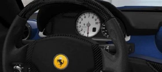 Ferrari SA Aperta, volante