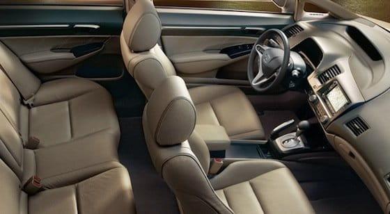 Honda Civic sedán 2011 interior