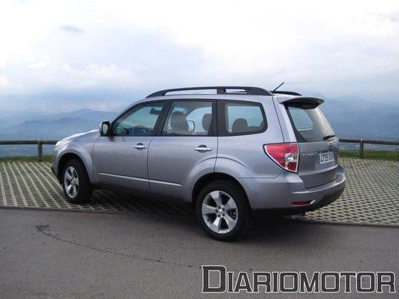 Subaru Forester 2.0D Limited, a prueba (II)