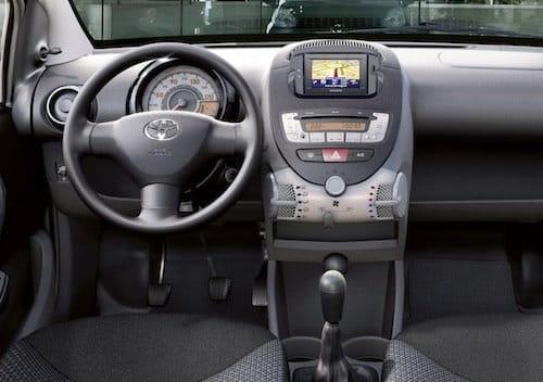 Toyota Ayto interior 2010