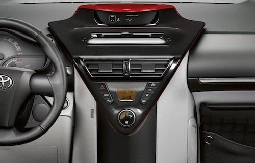 Toyota iQ interior 2010