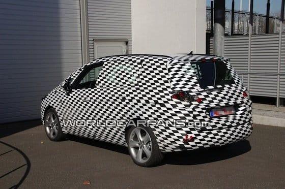 Fotos espía del nuevo Opel Zafira