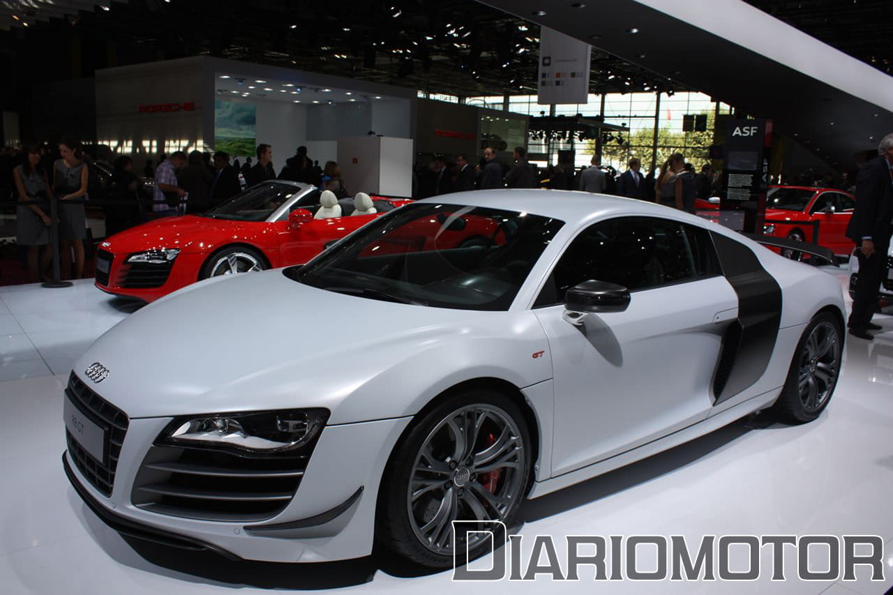 audi r8 gt y v8 spyder en el sal n de par s foto 13 de 23. Black Bedroom Furniture Sets. Home Design Ideas