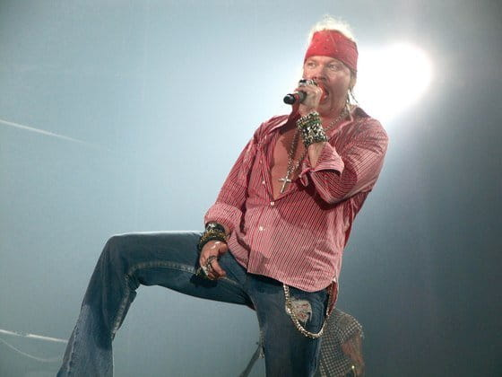 Bentley demanda a Axl Rose por 74.000 dólares