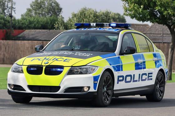 BMW policía