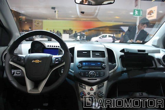 Chevrolet Aveo, el pequeñín travieso se destapa en París