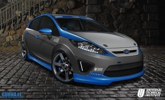 Ford Fiesta en el SEMA 2010