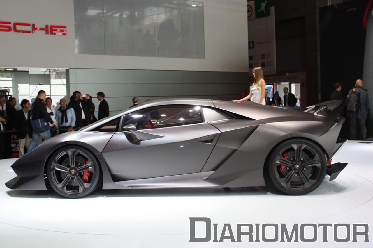 Lamborghini Sesto Elemento Concept Un Gallardo Anabolizado En Paris