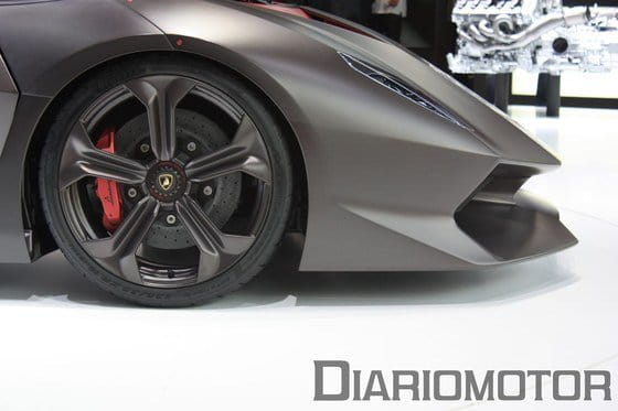 Lamborghini Sesto Elemento Concept, un Gallardo anabolizado en París