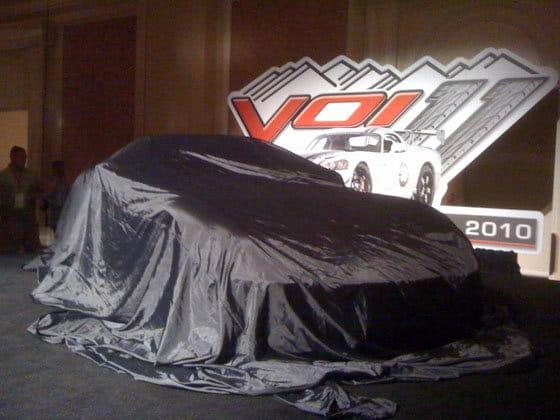 Logotipo Dodge Viper 2012