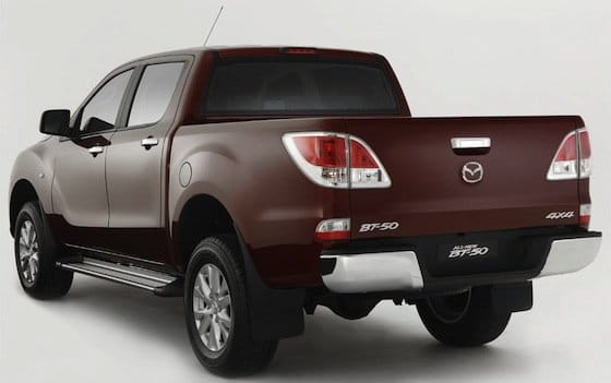 primeras im genes de la renovada pick up mazda bt 50 diariomotor. Black Bedroom Furniture Sets. Home Design Ideas