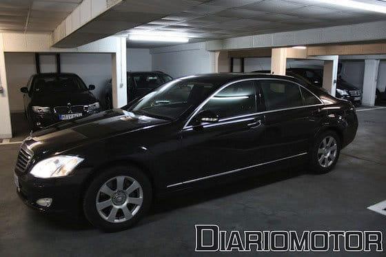 Mercedes Clase S, prueba en Alemania