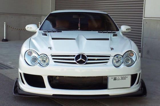 Lexus SC convertido a Mercedes
