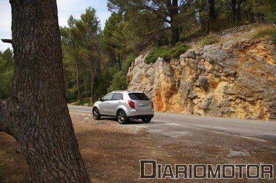 SsangYong Korando, presentación y prueba en Mallorca (II)