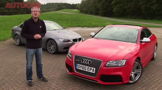 Audi RS5 vs BMW M3 Coupé