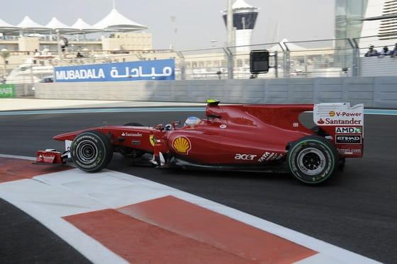 Fernando Alonso (Ferrari) - GP Abu Dhabi 2010