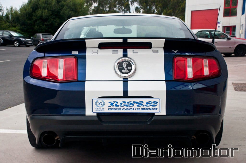 Prueba Shelby Mustang GT500 2010. - Pit Stop