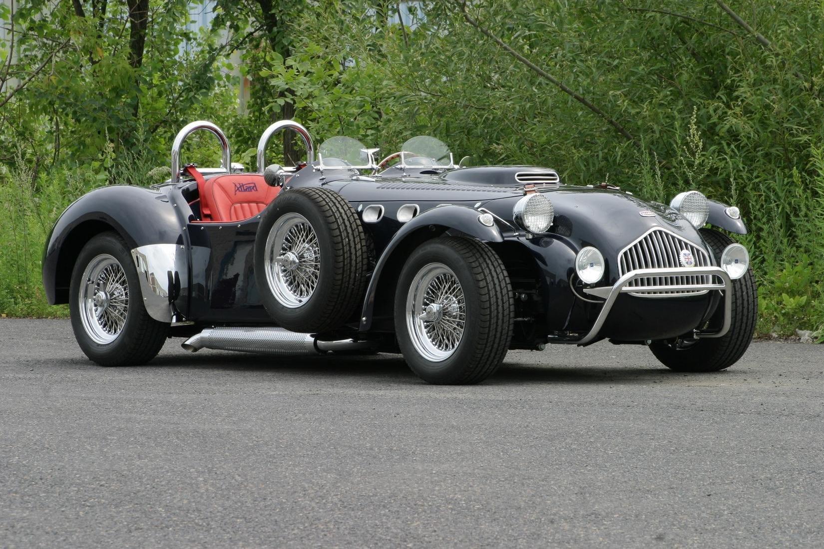 Allard j2x un descapotable deportivo de los a os - Los anos cincuenta ...