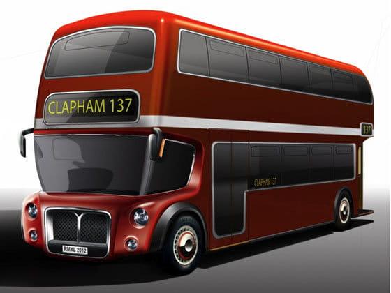 Autobús Aston Martin de Londres