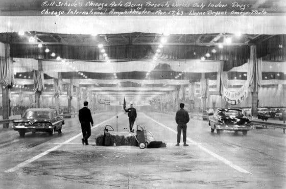 La historia de la única pista indoor de drag racing