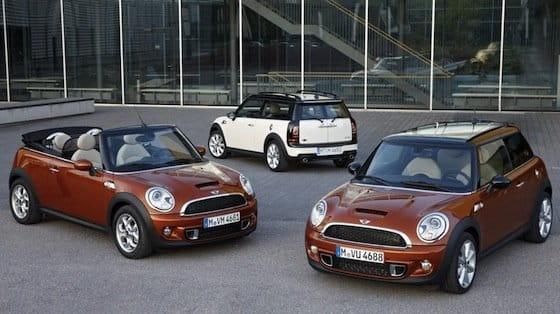Mini Cooper, Cabrio, Clubman 2011 gama