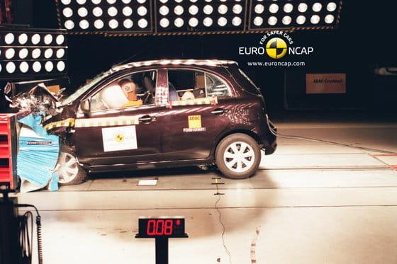 Nissan Micra EuroNCAP