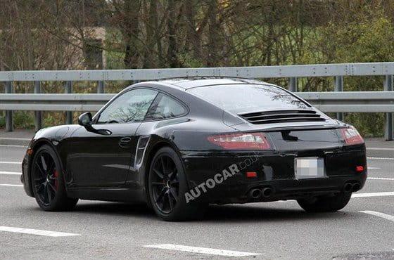Más indiscreciones sobre el futuro Porsche 911