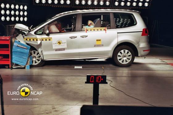 VW Sharan EuroNCAP