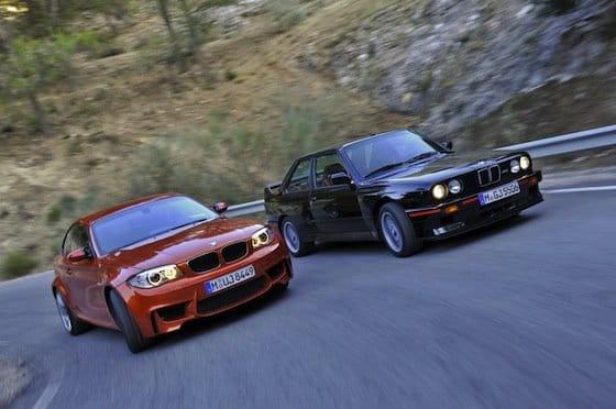 BMW Serie 1 M Coupé y BMW M3 E30
