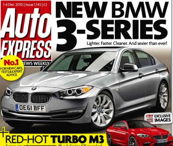 BMW Serie 3 2012 (F30), según AutoExpress