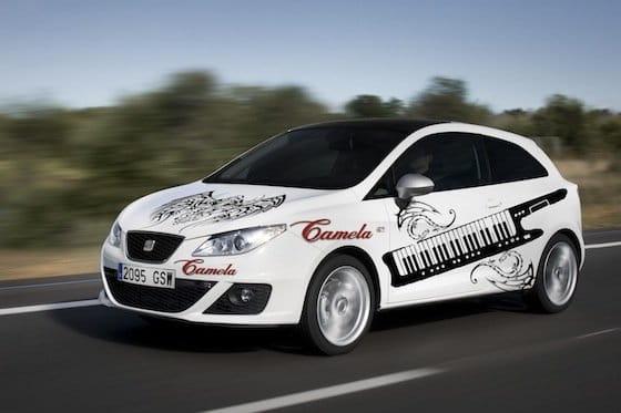 Seat Ibiza edicion camela