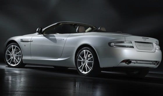 Aston Martin DB9 Volante Morning Frost