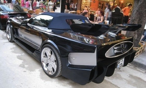 Corvette C5 + Pagani + Battlestar Galactica