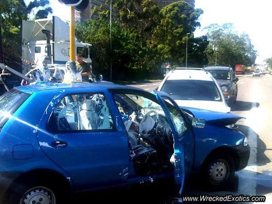 Accidente Fiat Palio