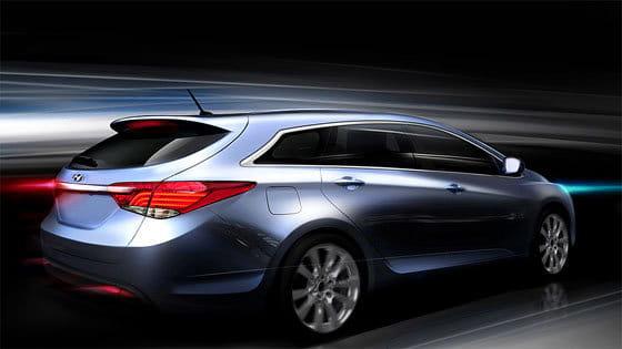Boceto Hyundai i40W